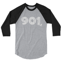 901 Baseball 3/4 sleeve raglan shirt