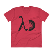 DJ A.D. logo fitted V-Neck T-shirt