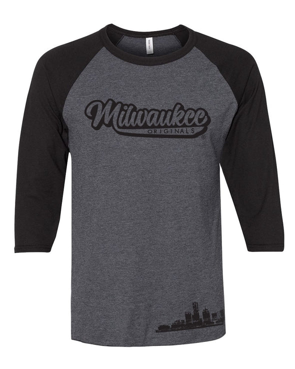 MKE Originals Baseball Tee (Black)