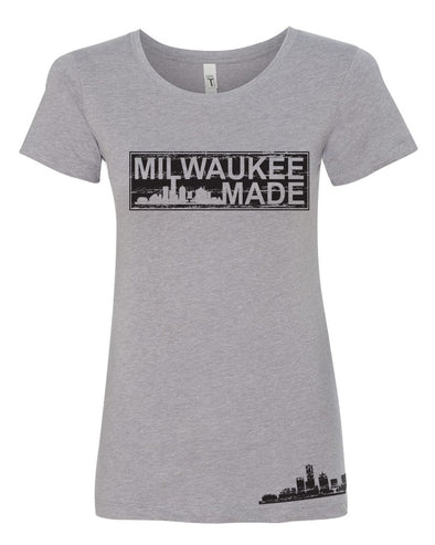MKE MADE Ladies Tee (Grey)