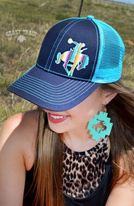 1ebd6df82ca31 Aztec Bronc Hat. Aztec Bronc Hat. TNT Ranch Boutique