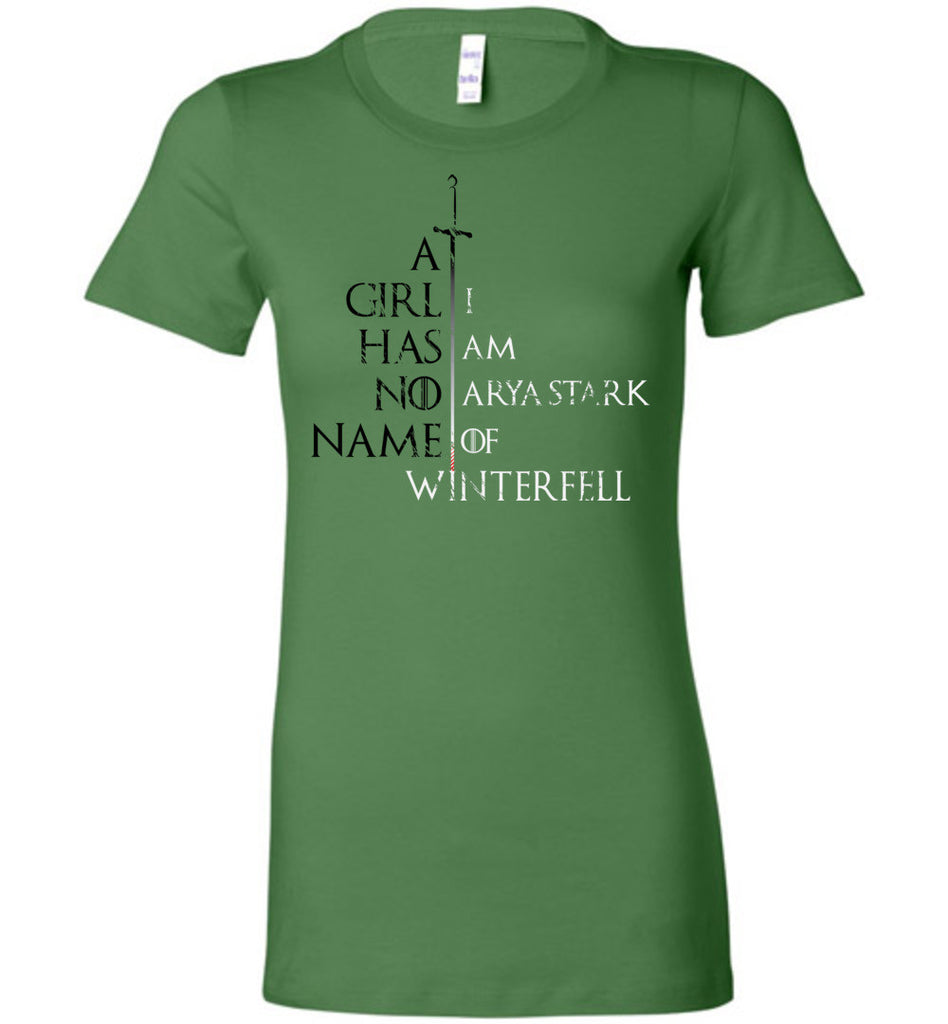 A Girl Has No Name - Game of Thrones Women's Premium Tshirt