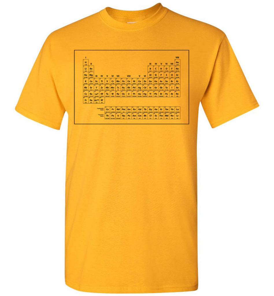 Stranger Things - Dustin's Periodic Table Shirt