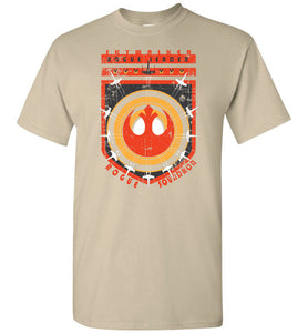b0d7877670e1 Star Wars Inspired: Rogue Squadron - Rogue Leader Crew Flight Shirt ...