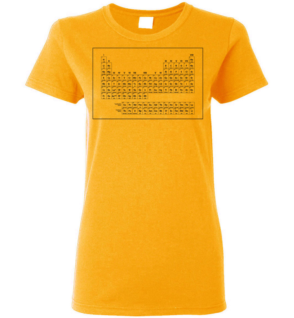 Stranger Things 2: Periodic Table Ladies Tee