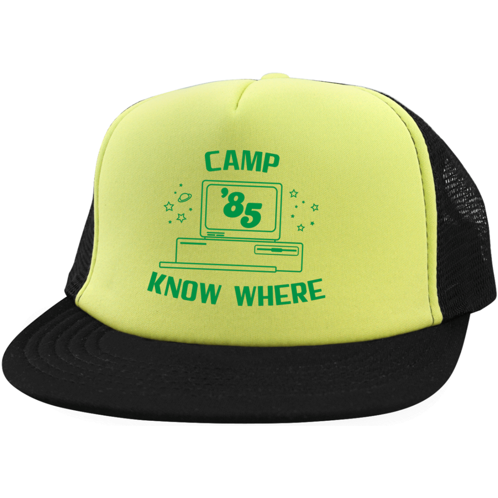 "Dustin's ""Camp Know Where"" Trucker Cap From Stranger Things Season 3 (Variation)"