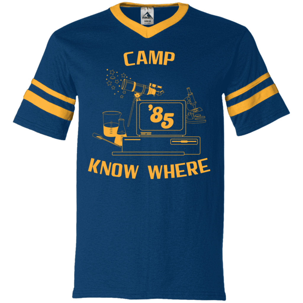 "Dustin's ""Camp Know Where"" Jersey Variation From Stranger Things Season 3"