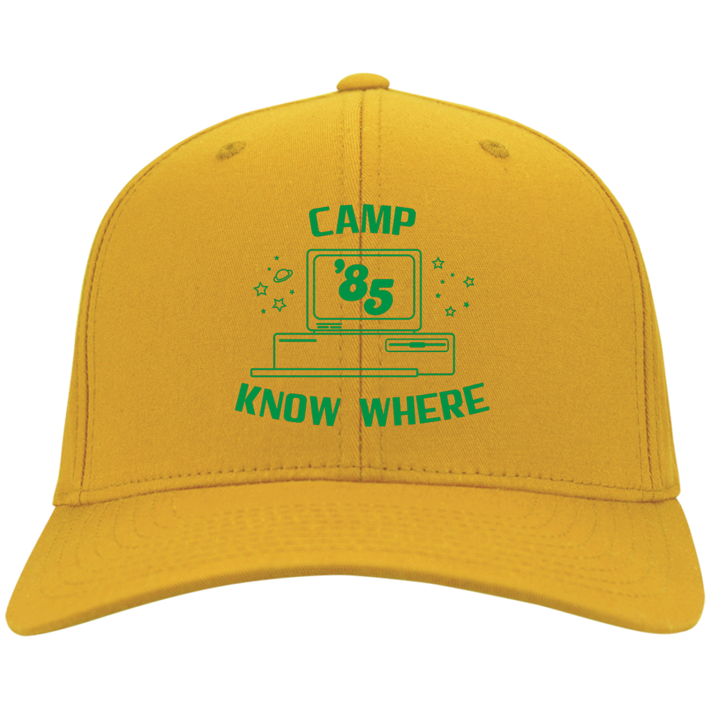 "Dustin's ""Camp Know Where"" Twill Cap From Stranger Things Season 3 (Variation)"
