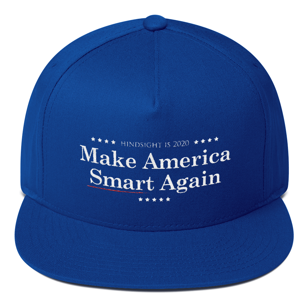 Make America Smart Again - Resist Hat