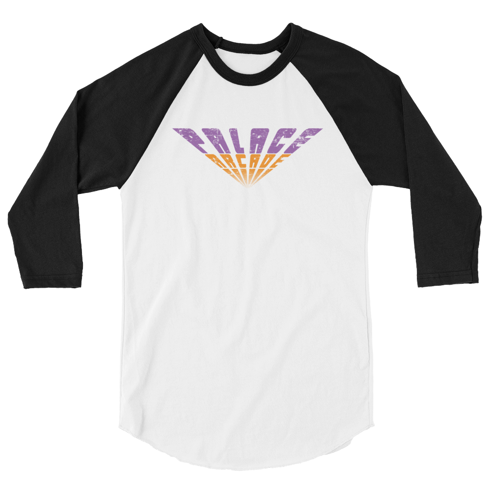 Stranger Things 2 Palace Arcade Vintage Baseball RAGLAN Shirt