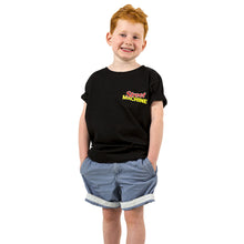 Street Machine kids black t-shirt front