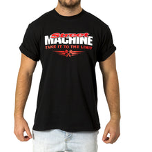 Street Machine Black take it to the limit t-shirt front