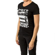 Street Machine Black Womens t-shirt side