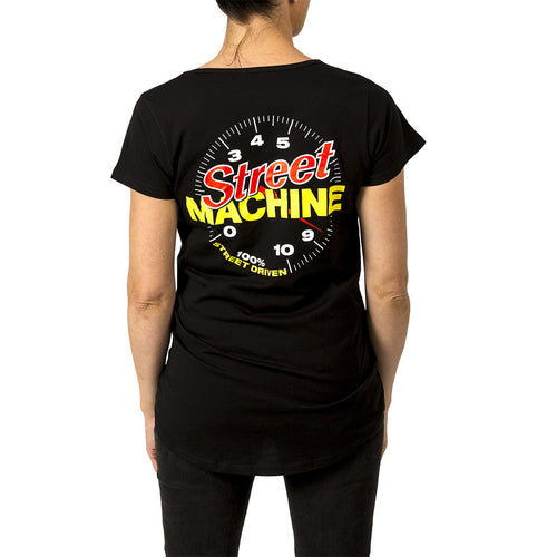 Street Machine Women's t-shirt black back