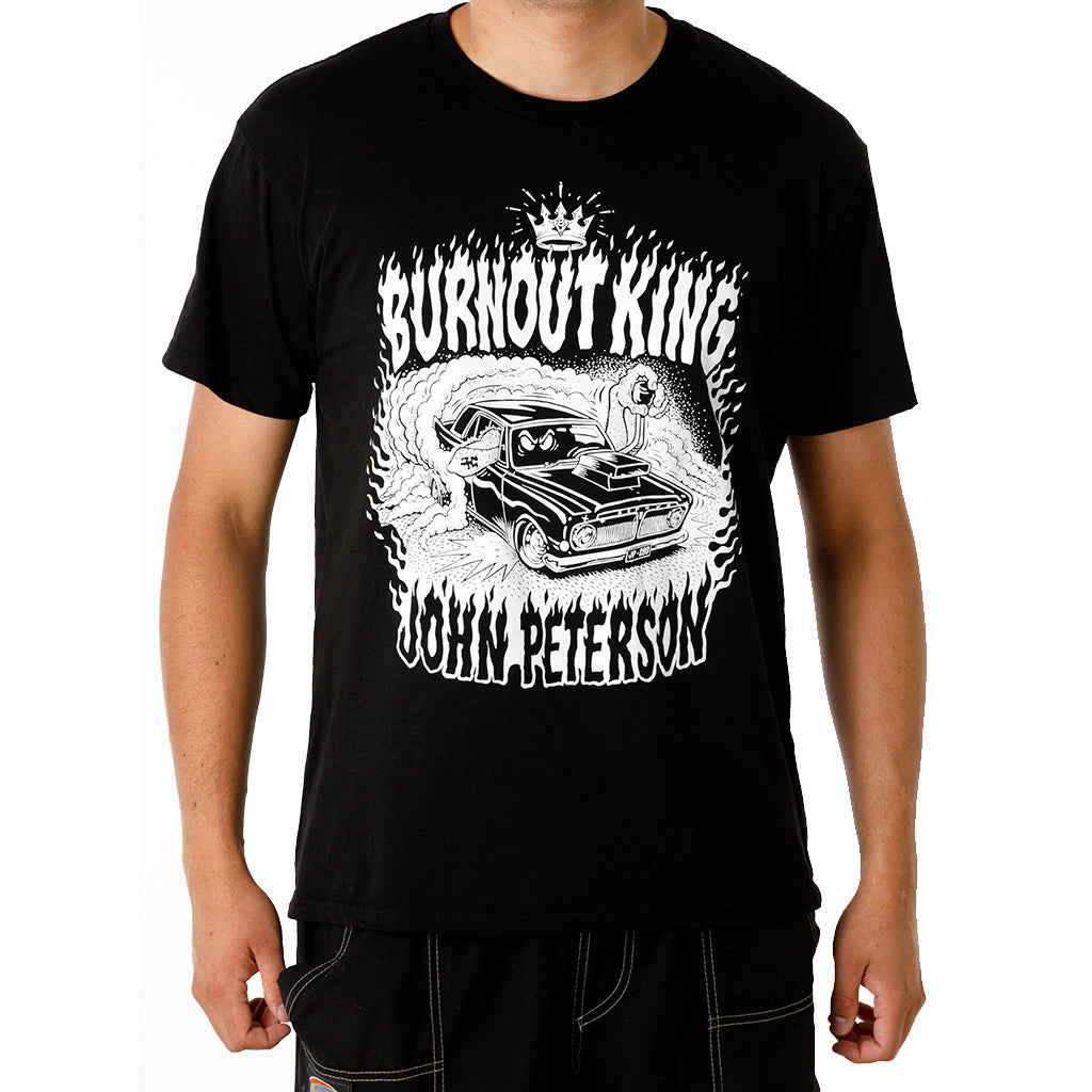 Burnout King John Peterson T-shirt