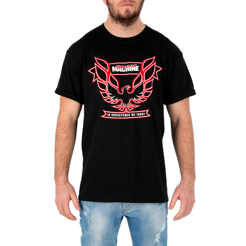 Men's 'In Horsepower We Trust' T-Shirt Front