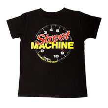 Street Machine Kids black Tacho top