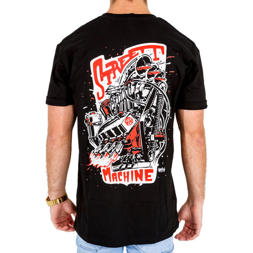 Street Machine Beastly Big Block Men's t-shirt back