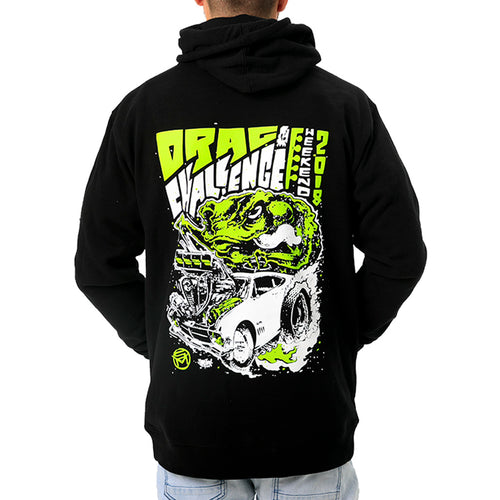 Street Machine 2018 Drag Challenge Weekend Hoodie Back View