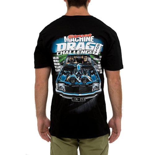 Street Machine 2017 Drag Challenge T-shirt Back View