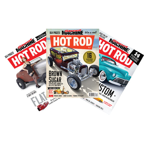 Street Machine Hot Rod Issues 13, 14 and 15