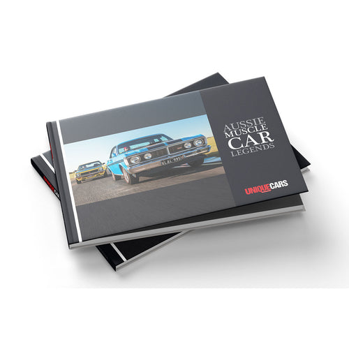 'Aussie Muscle Car Legends' Book
