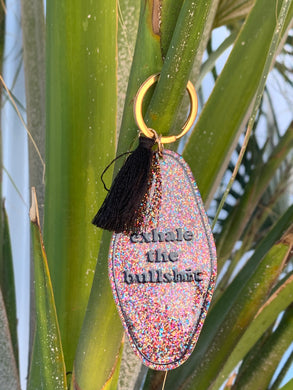 Exhale the BS key ring