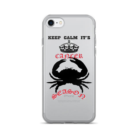 CANCER- KEEP CALM iPhone 7/7 Plus Case