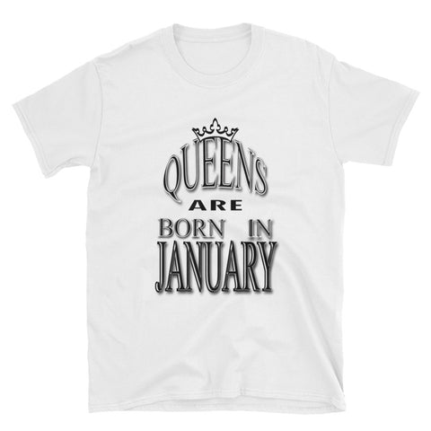 JANUARY-QUEENS Short-Sleeve Unisex T-Shirt