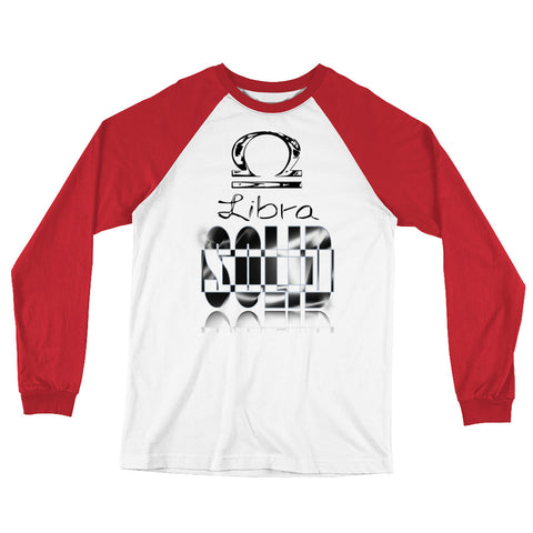 LIBRA-Long Sleeve Baseball T-Shirt