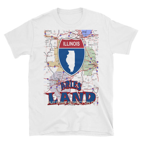 ARIES LAND ILLINOIS Short-Sleeve Unisex T-Shirt