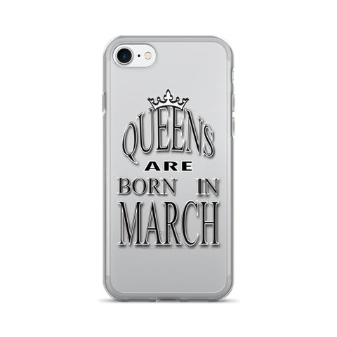 MARCH-QUEENS-iPhone 7/7 Plus Case