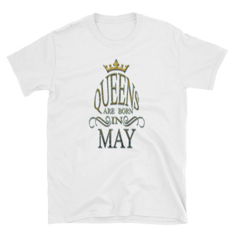 MAY QUEENS STONE PRINT Short-Sleeve Unisex T-Shirt