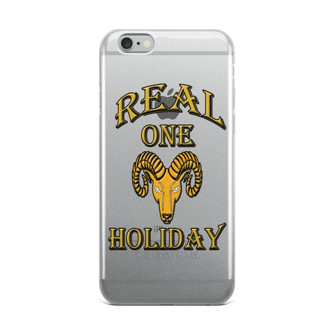 Aries Real One Holiday iPhone Case
