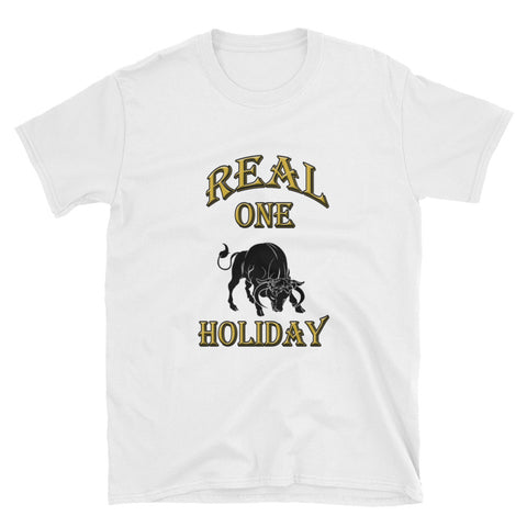 TAURUS REAL ONE HOLIDAY Short-Sleeve Unisex T-Shirt