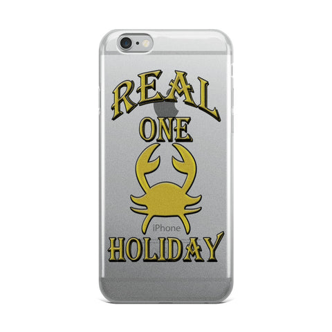 CANCER REAL ONE HOLIDAY iPhone Case