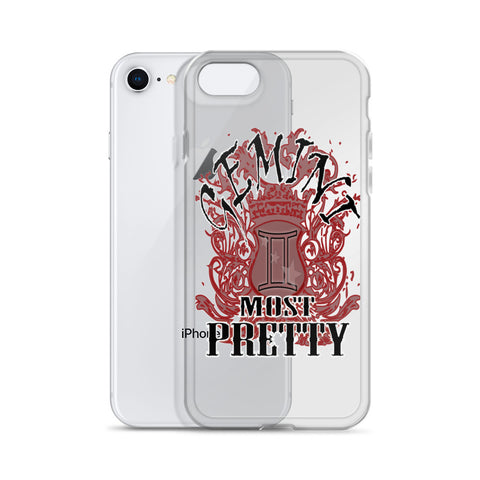 GEMINI MOST PRETTY iPhone Case