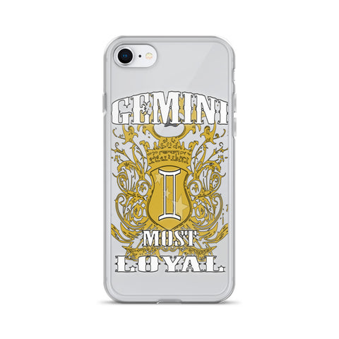 GEMINI MOST LOYAL iPhone Case