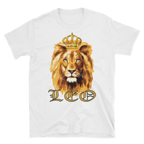 LEO-LION-Short-Sleeve Unisex T-Shirt