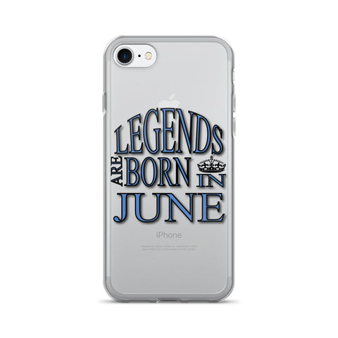 JUNE- LEGENDS iPhone 7/7 Plus Case