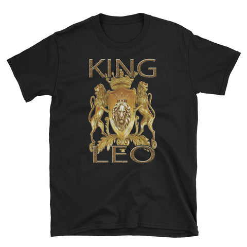 KING LEO Short-Sleeve Unisex T-Shirt