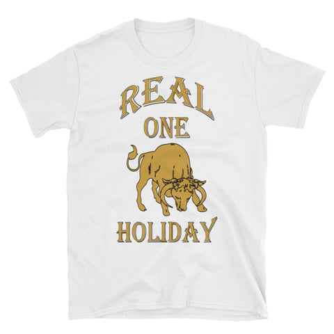 TAURUS REAL ONE HOLIDAY 2 Short-Sleeve Unisex T-Shirt