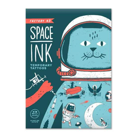 Space Ink - Temporary Tattoos