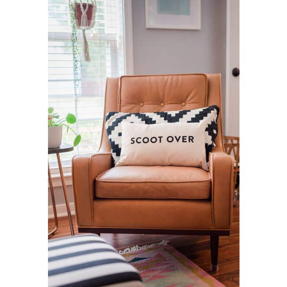 Scoot Over Pillow