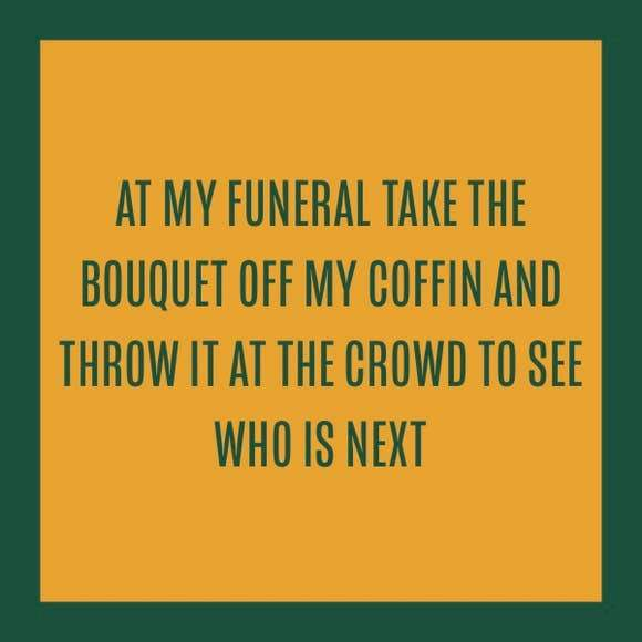 Funeral Bouquet Coaster
