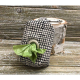 Grid Black-Dog Waste Bag Holder