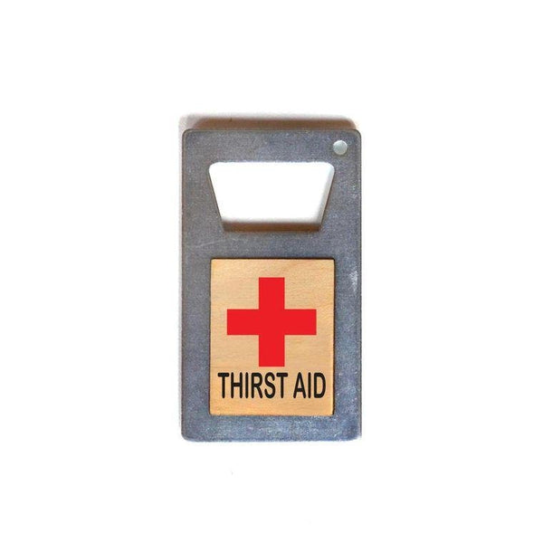 Thirst Aid Magnet Bottle Opener