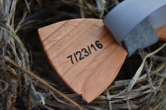 Bow Tie Engraving