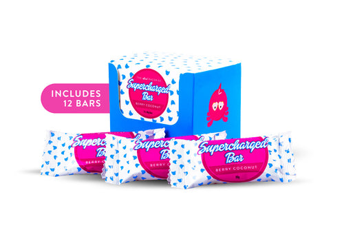 Berry Coconut Flavour - RACERICE Supercharged Bar
