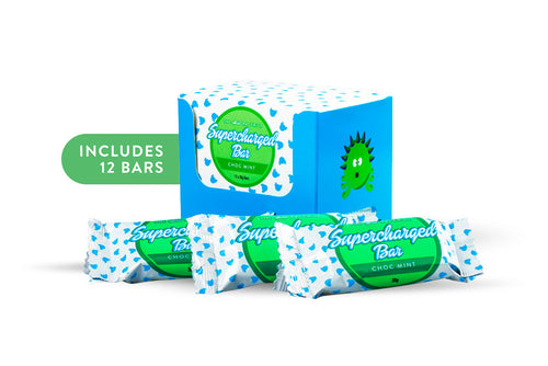 Choc Mint flavour RACERiCE SuperCharged Bar Stephanie Rice Sports Bar Kids
